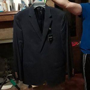Ralph Lauren slim fit navy blue blazer size 44 Reg